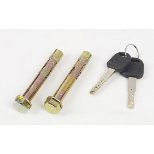 kit de fixation et clés de secours coffre fort