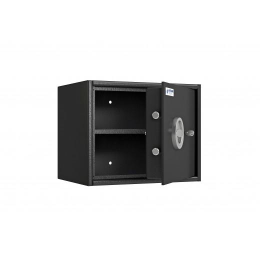 Coffre fort de sécurité PROS1/30 Classe S1 entrouvert et vide