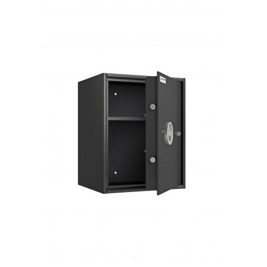 Coffre fort de sécurité PROS1/60 Classe S1 vide et ouvert