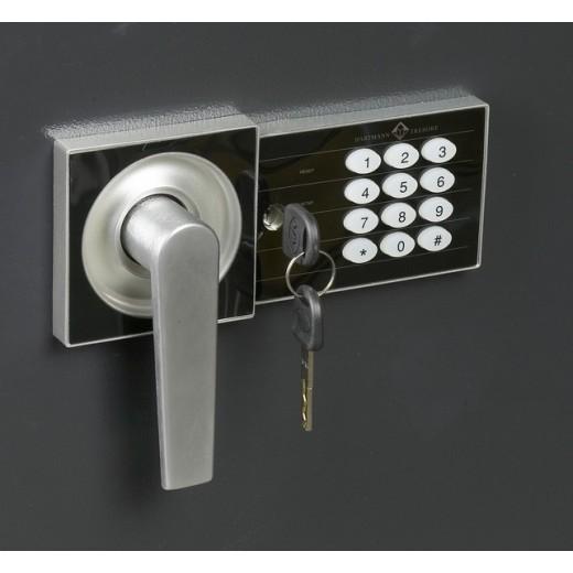 Serrure de coffre fort avec clé