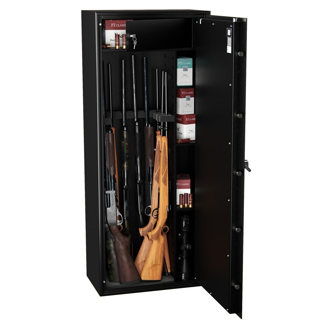 Armoire Forte Pour Fusils WT5010N1 10 ARMES Serrure à Clés