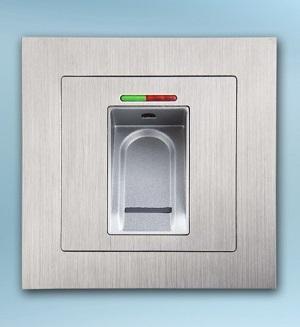 la serrure biometrique reconnait l'empreinte digitale