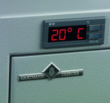 thermostat dans pour armoire rack