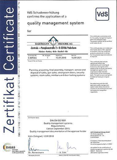 Certificat VDS
