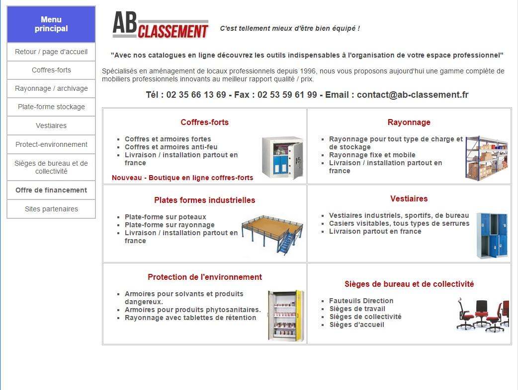 AB classement - Nos Partenaires Hartmann Tresore