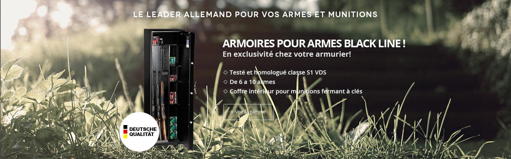 Armoire Armes Blackline