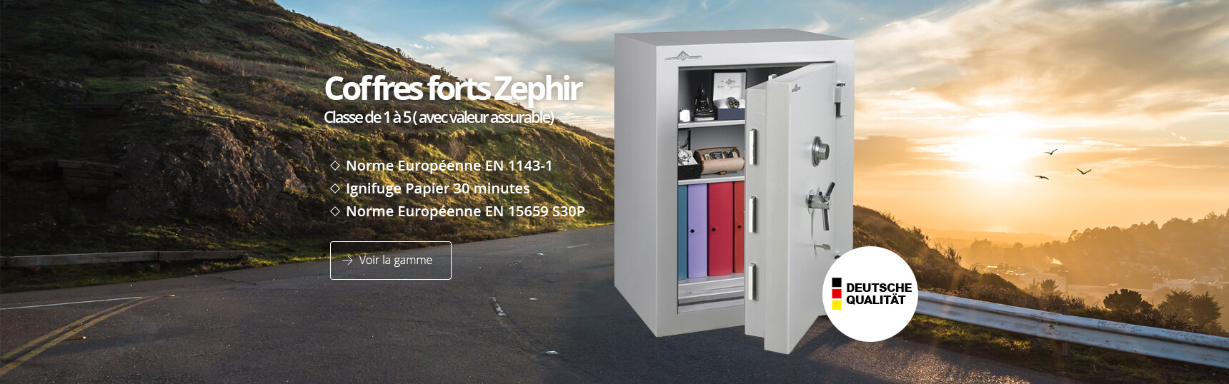 Coffre fort Zephir